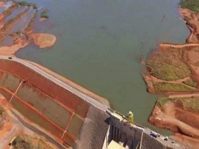 Central Hidrelétrica 4A será uma das vistoriadas pela Agepan; em 2017, houve incidente na casa de de força, que não teria afetado a barragem (Foto: Divulgação/Seta Engenharia)