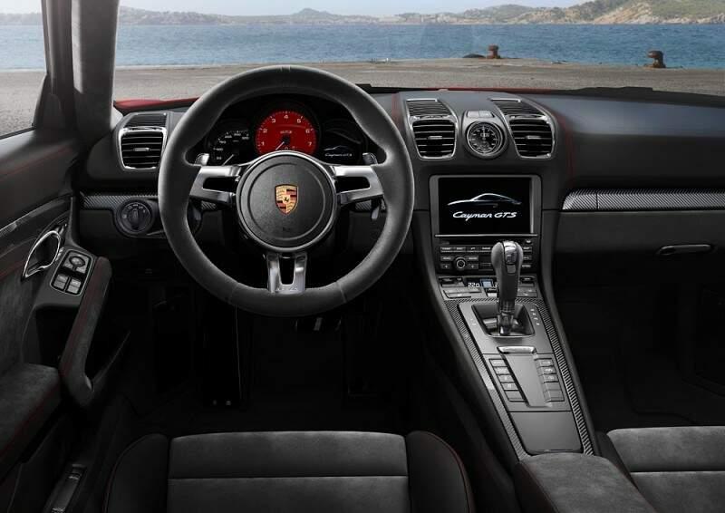Cayman GTS - Interior