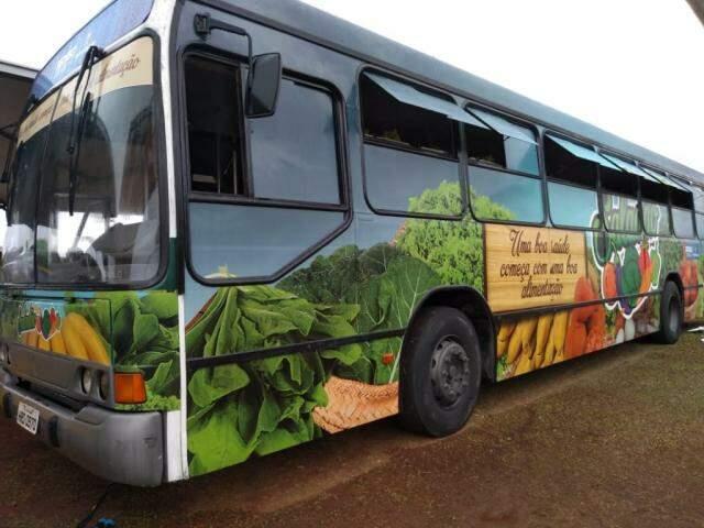 Veículo será estacionado próximo a Igreja Perpétuo Socorro e Praça do Peixe (Foto: Kleber Clajus)