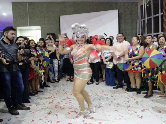 Lançamento do evento serviu de prévia do que o Carnaval de Corumbá terá para o público em 2018. (Foto: Divulgação)