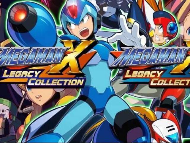 Em 24 de Julho a Capcom lançou Mega Man X Legacy Collection 1 e 2.