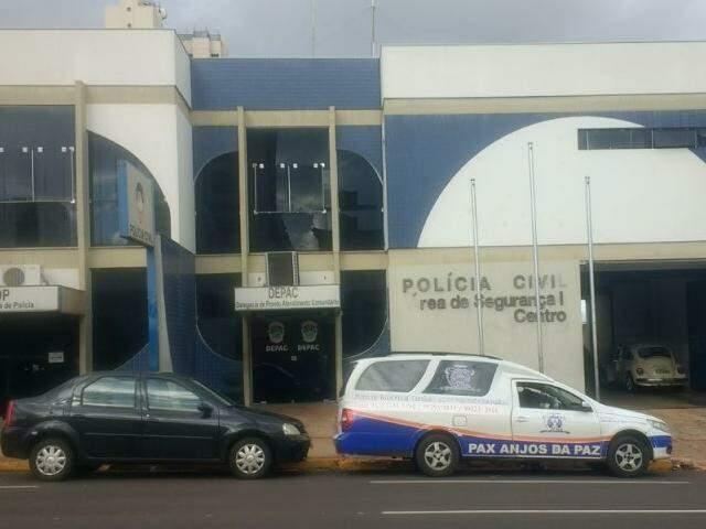 Crime foi registrado na Depac Centro (Foto: Marcos Ermínio)