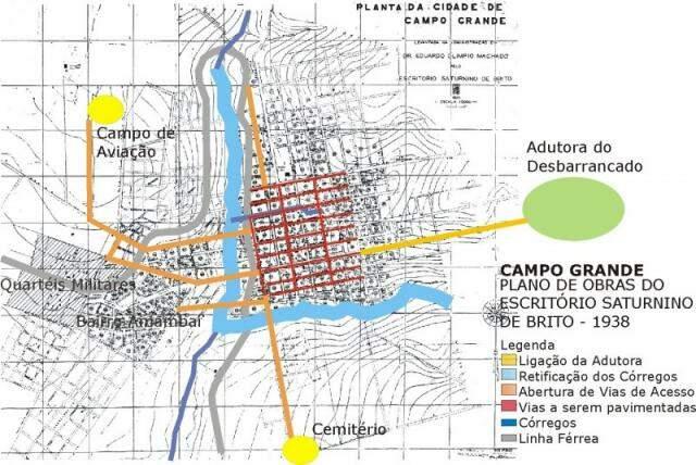 Obras importantes para Campo Grande.