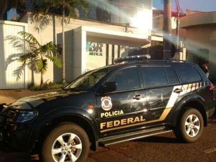 Polícia Federal cumpre mandado da Lama Asfáltica na sede da Eldorado