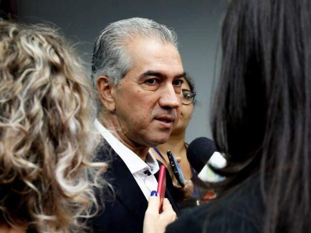 Governador Reinaldo Azambuja disse estar preocupado com reajuste sancionado para o STF (Chico Ribeiro/Segov)
