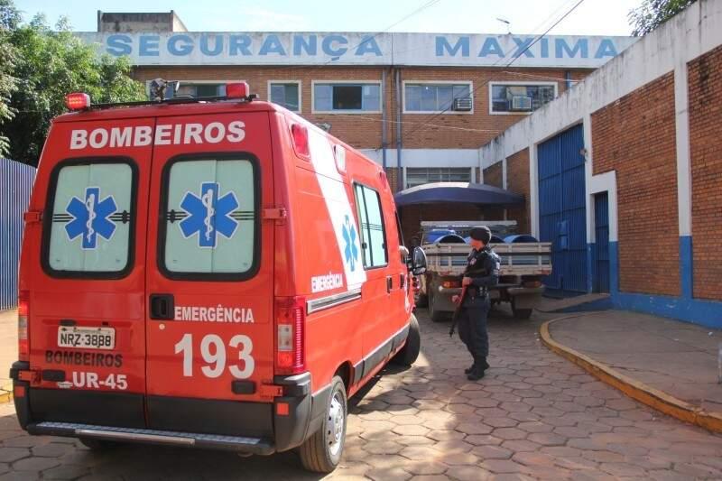 Preso é encontrado morto no Presídio de Segurança Máxima da Capital, mas corpo não apresenta sinais de violência (Foto: Arquivo)