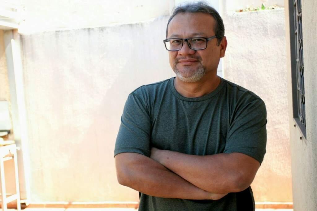 """Altidor Garcia Lima Filho, apelidado também como """"Alte"""" ou """"Plaquinha"""" (Foto: Saul Schramm)"""