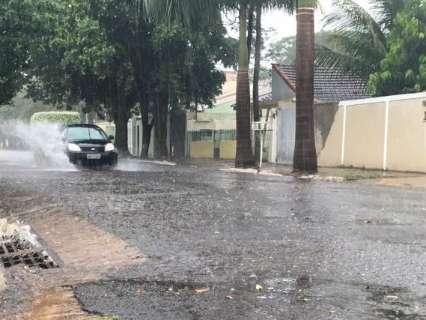 Depois de chuva, calor deve voltar a MS com máxima de até 40º C