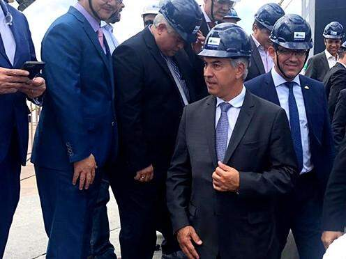 Governador visitou hoje o Porto de Itaqui junto com governadores do Consórcio Brasil Central