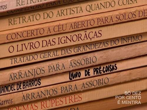 Obras de Manoel de Barros deve ganhar exposição nacional. (Foto: Prosa em Poema)