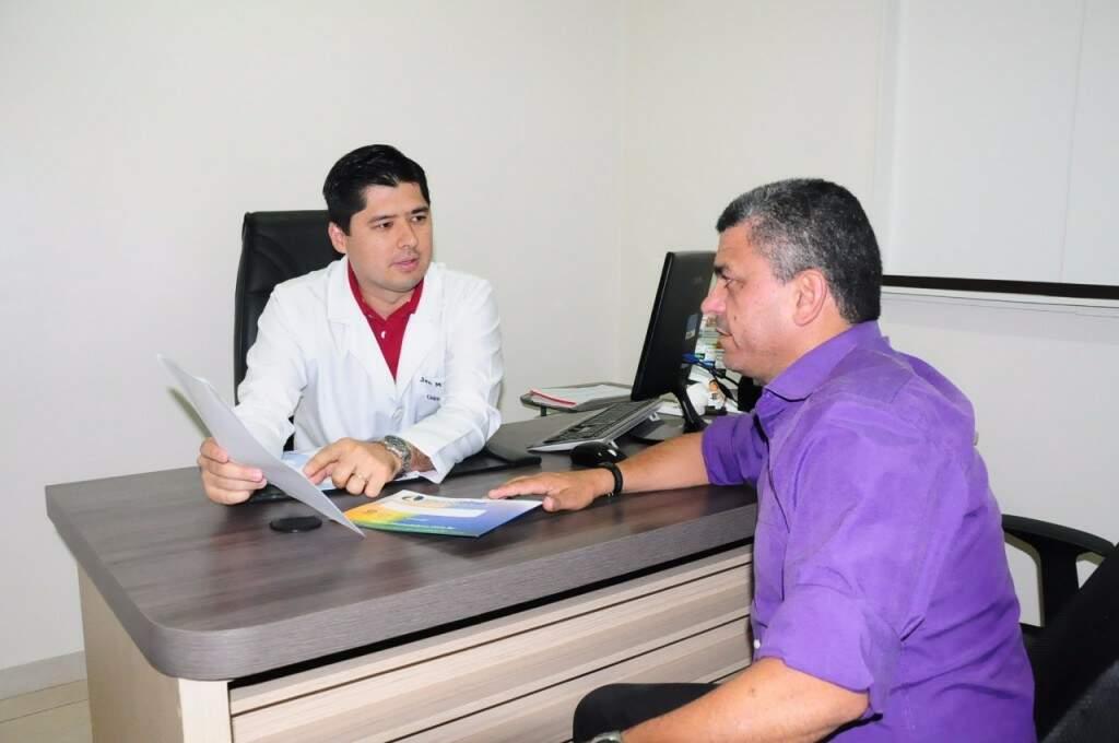 Além de atendimento Médico, exames da próstata sem custo para associado