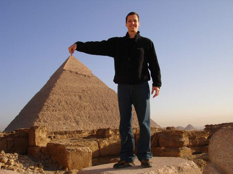 Visita ao Egito. (Foto: Arquivo Pessoal)