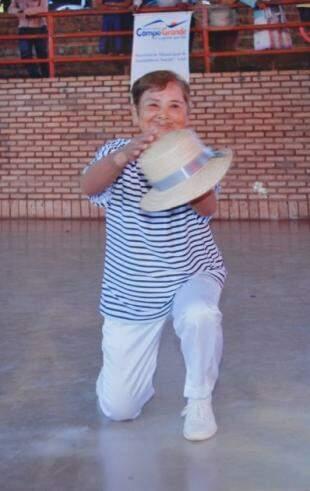 """E no samba, de """"malandro"""". (Foto: Arquivo Pessoal)"""