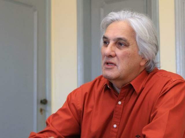 Delcídio, em entrevista ao Campo Grande News; ex-senador tentará voltar ao Congresso. (Foto: Marina Pacheco/Arquivo)