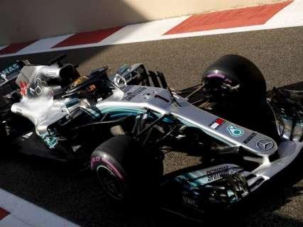 Pentacampeão antecipado, Hamilton larga na pole na última prova da F1 em 2018