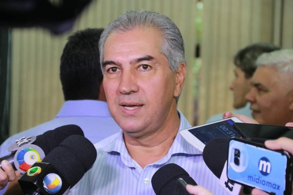 Governador Reinaldo Azambuja assinará amanhã resolução de incentivo à carne sustentável (Foto: Marcos Ermínio)