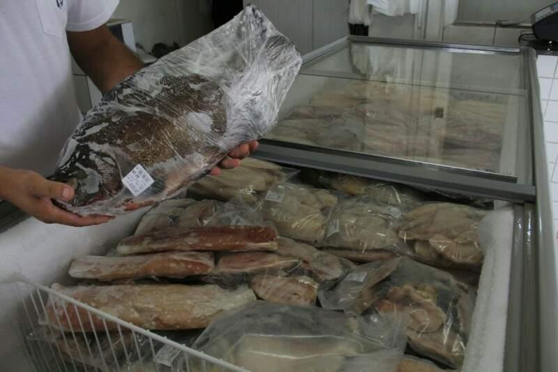 Venda de pescado deve aumentar 14% no Estado, na Páscoa deste ano. (Foto: Marcos Ermínio/ Arquivo)