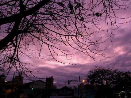 Campo Grande amanhece com sensação térmica de 2ºC e previsão é de chuva