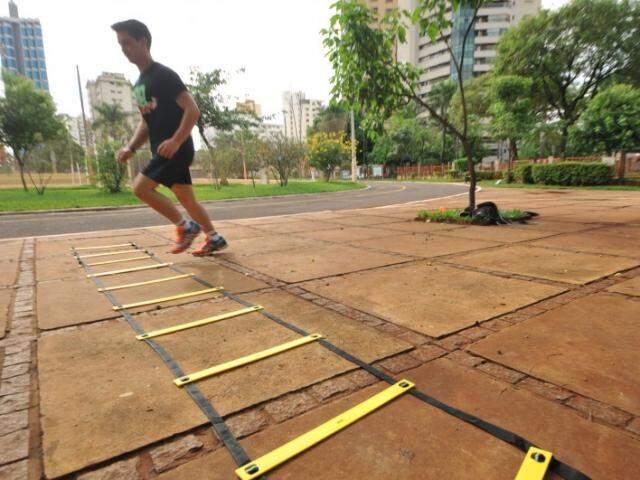 A experiência é recente e focada em quem quer emagrecer, ganhar resistência física e definição muscular. (Foto: Alcides Neto)
