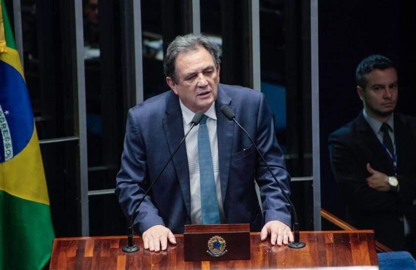 O senador Waldemir Moka apareceu no levantamento da Diap (Foto: Divulgação)