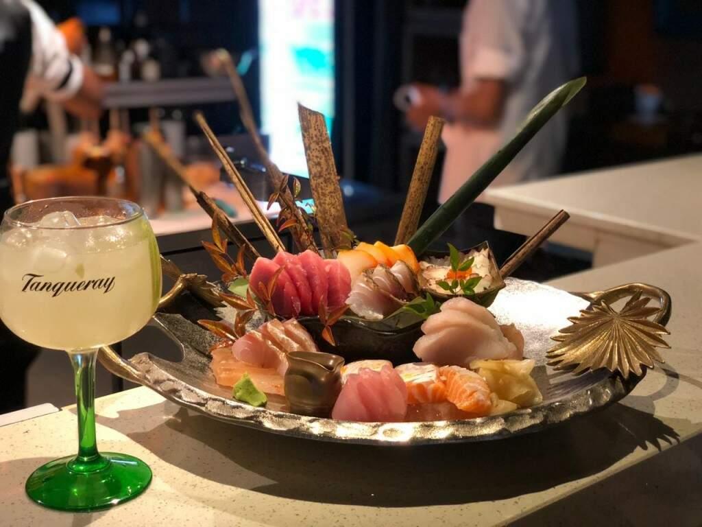 Sashimi Imakay - 20 cortes dos pescados frescos do dia.(Foto:Divulgação/Imakay)