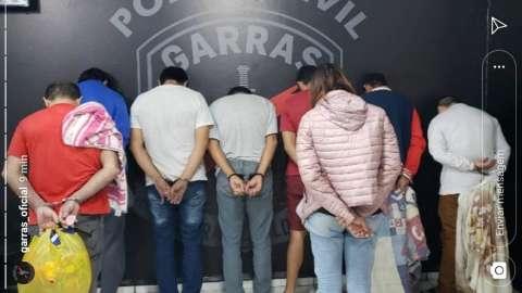 Presos por furto de cocaína em delegacia chegam a Campo Grande