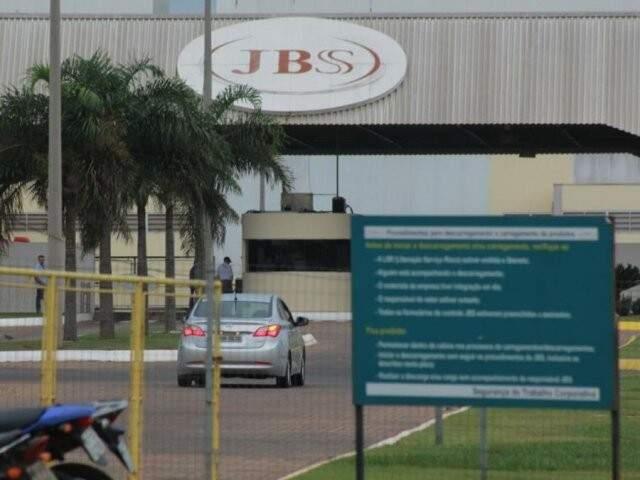 Unidade da JBS em Campo Grande (Foto: Marcos Ermínio/Arquivo)