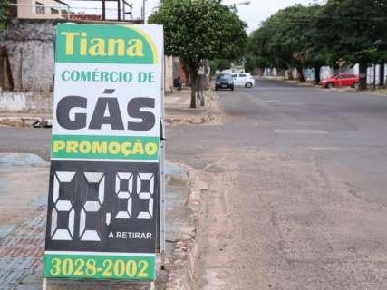 Retirar o gás no balcão pode fazer consumidor economizar até R$ 10