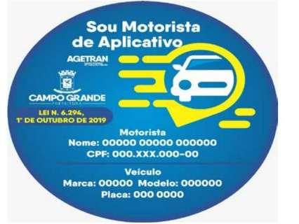 Motoristas de aplicativo vão ter de adesivar carro e fazer formação de 28 horas