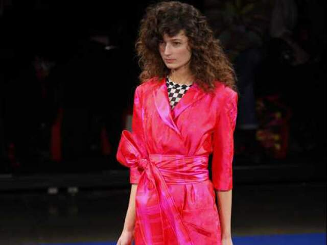 Vestido rosa, Alexandre Herchcovitch