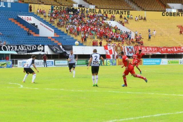 Operário venceu o confronto pelo primeiro turno da fase de grupos (Foto: André Bittar/Arquivo)