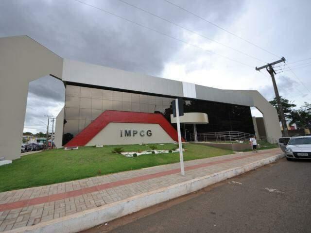 Sede do IMPCG em Campo Grande (Foto: Marcelo Calazans / arquivo)