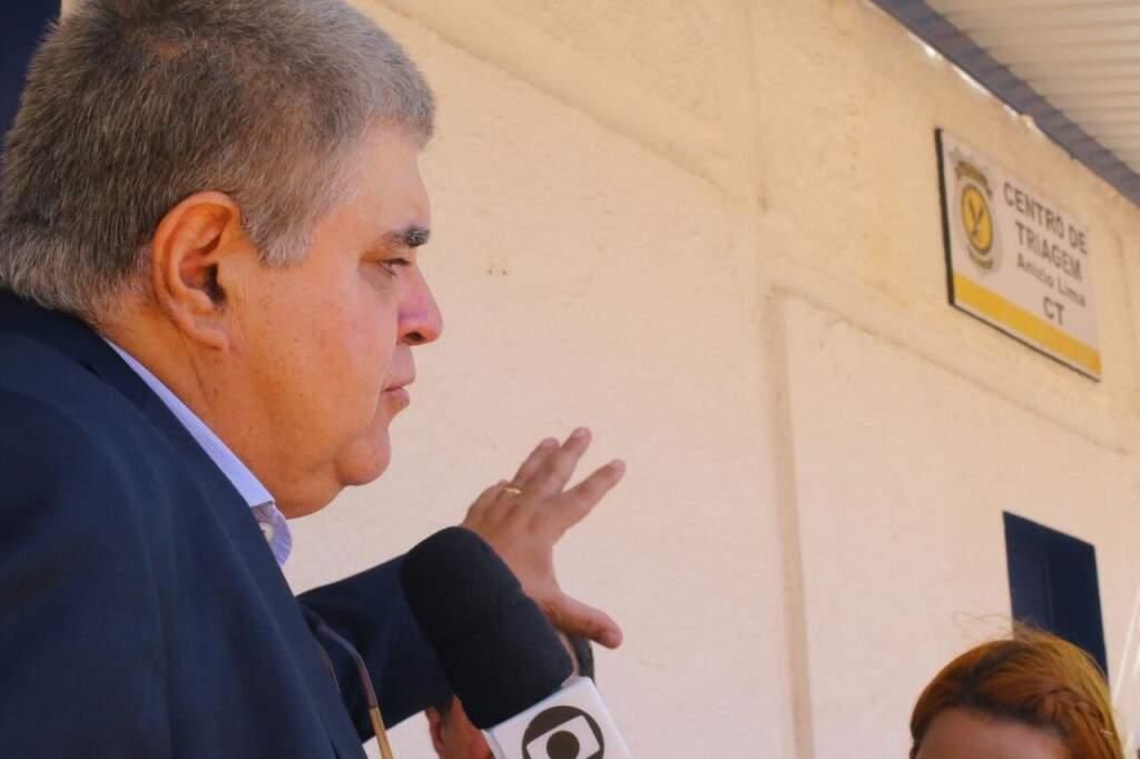 """O deputado afirmou que Puccinelli está """"inconformado, mas com moral elevada"""" (Foto: André Bittar)"""