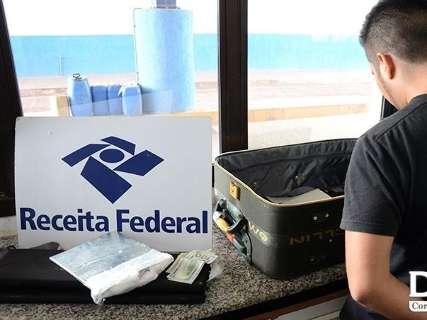 Receita Federal apreende quase 5 kg de cocaína que iriam para São Paulo