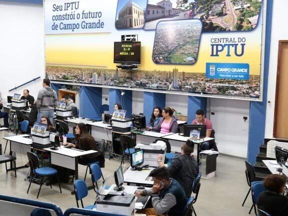Central de Atendimento nesta segunda-feira, dia 3.(Foto: Divulgação Prefeitura de Campo Grande).