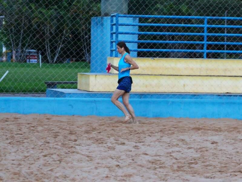 Diane corre todos os dias às 5h20 por prazer em manter uma vida saudável. (Foto: André Bittar)