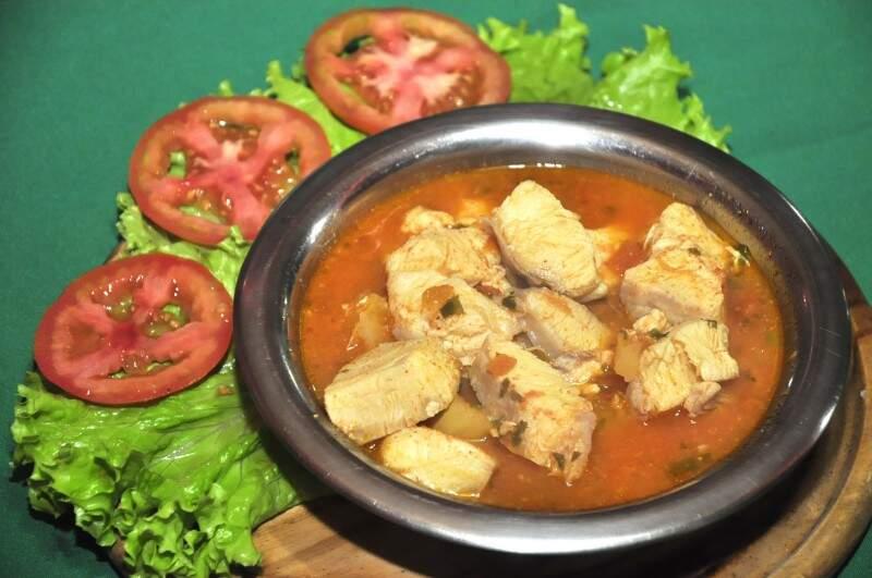 Mojica de Pintado, prato típico cuiabano (Foto: João Garrigó)