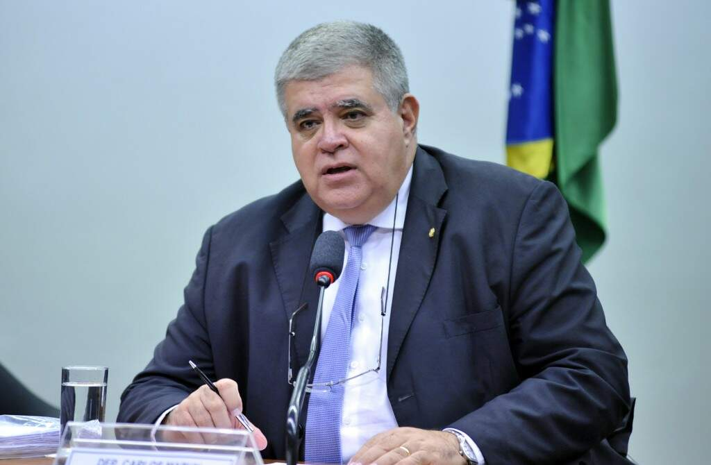 Carlos Marun durante reunião na Câmara Federal (Foto: Alex Ferreira/Câmara dos Deputados)