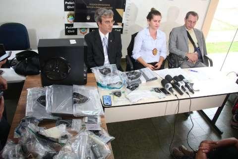 Presos em operação contra rede de pedófilos estão em cela de delegacia