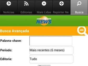 As notícias agora a um 'touch' do leitor: Campo Grande News estreia aplicativo