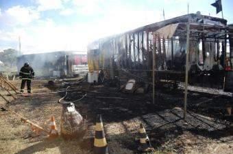 Após incêndio, circo e família que perdeu tudo pedem ajuda para continuar