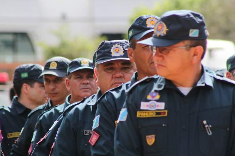 Policiais militares vão ter reajuste de 18% neste mês (Foto: Marcos Ermínio)