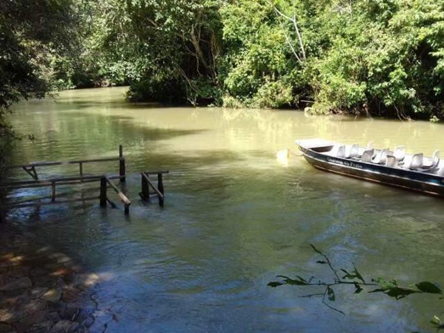Situação do último dia 2 de dezembro, quando mergulhos foram cancelados. (Foto: Instituto Amigos do Rio da Prata)