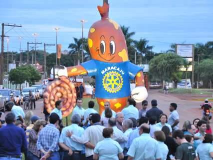 18ª edição da Festa da Linguiça de Maracaju termina nessa terça-feira