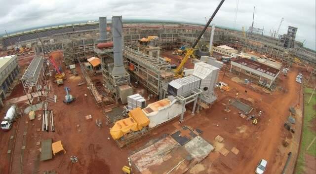 Construção foi paralisada com  82% das obras concluídas. (Foto: Perfil News/Arquivo)