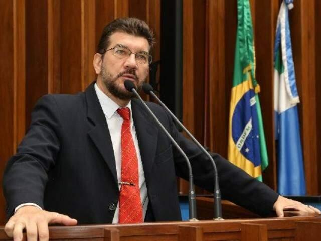 O deputado estadual, Pedro Kemp, vai disputar pela primeira vez a Prefeitura de Campo Grande (Foto: Divulgação/ALMS)