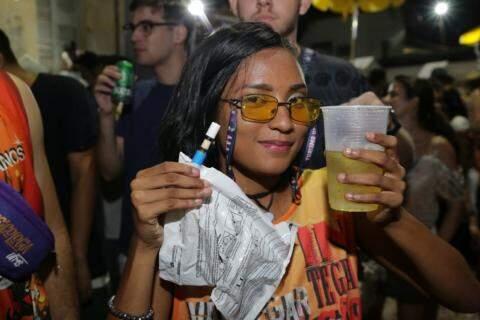 Juliana já estava bebendo muito antes do teste (Foto: Kísie Ainoã)