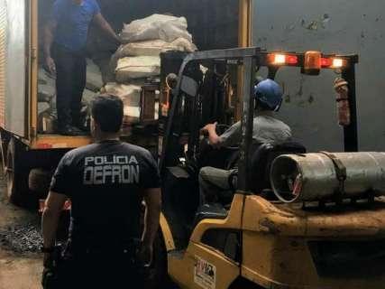 Com apreensões recordes, polícia incinera quase 25 toneladas de drogas
