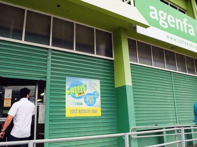 Agência Fazendária em MS (Foto: Divulgação/Sefaz)