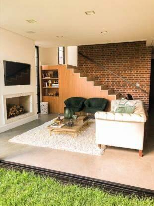 Todos os ambientes da casa são voltados para o quintal da família. (Foto: Arquivo Pessoal)